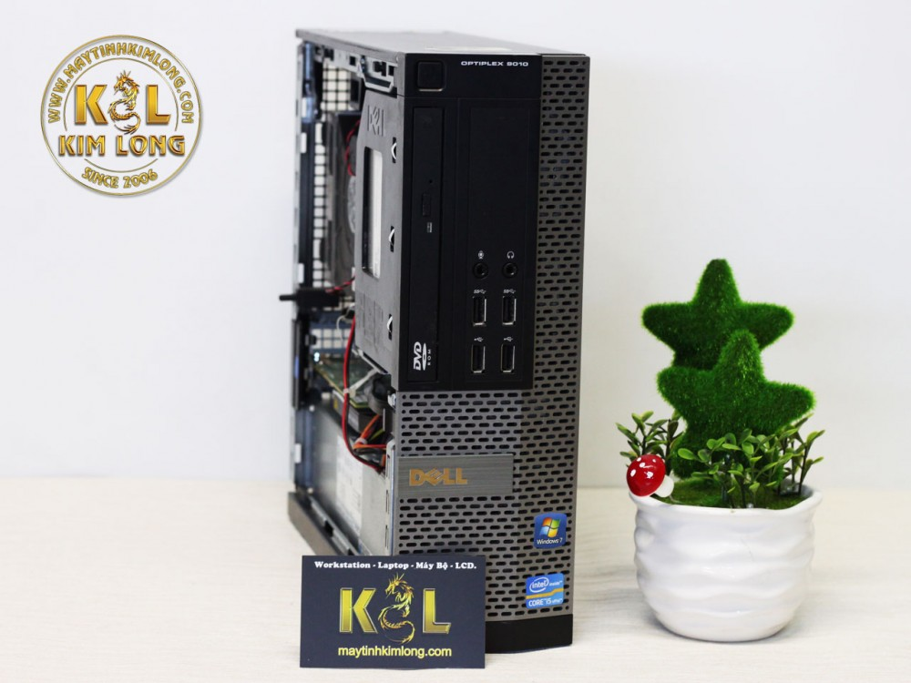 Máy bộ Dell Optiplex 7010 - 9010 SFF  - Case mini - Cấu hình 1 (Core i3 3220 3.1GHz - 3MB / Ram3: 4GB / HDD: 250Gb / VGA : Onboard)