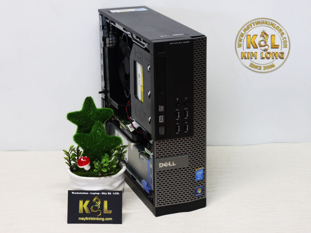 Máy bộ Dell Optiplex 3020 - 9020 SFF - Case mini -  Cấu hình 2 (Core i5 4460 3.4 ghz/6M / DDR3 4GB/HDD 250GB /VGA onboard)