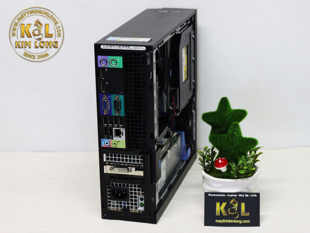 Máy bộ Dell Optiplex 3020 - 9020 SFF - Case mini -  Cấu hình 1 (Core i3 4130 3.4 ghz/3M / DDR3 4GB/HDD 250GB /VGA onboard)