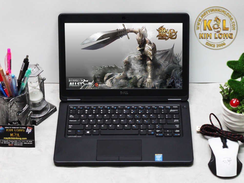 Laptop Dell Latitude E5250 i5 5300u/4GB/256GB