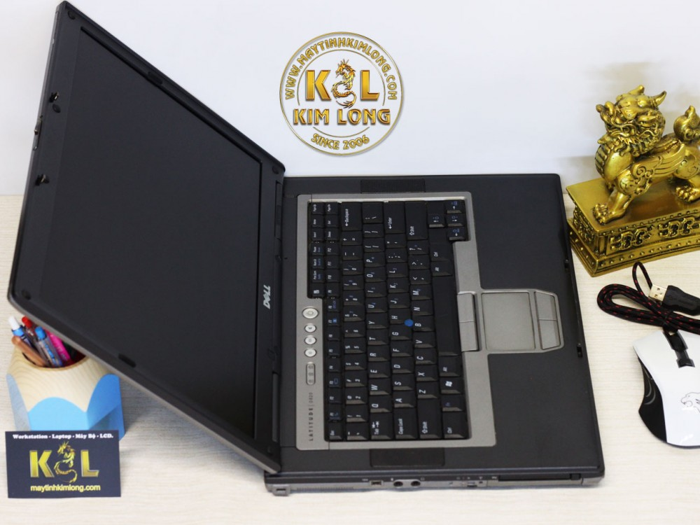 Laptop Dell Latitude D830 Core 2 T7300/2GB/80GB