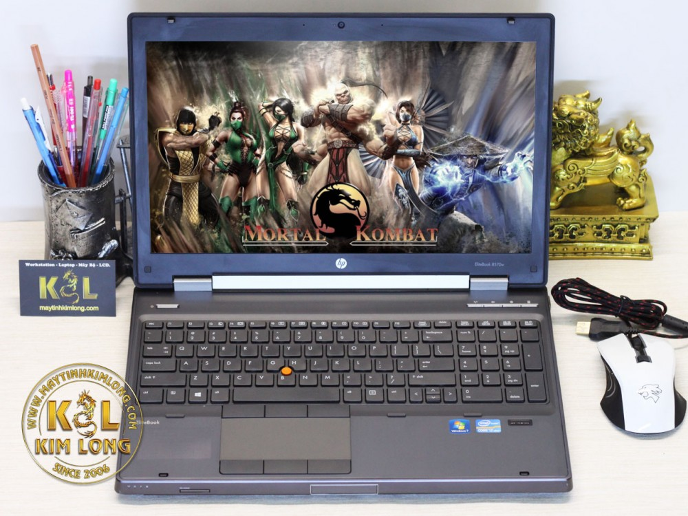 Laptop HP EliteBook 8570w i7 3720QM/8GB/SSD 160GB/Quadro K1000M