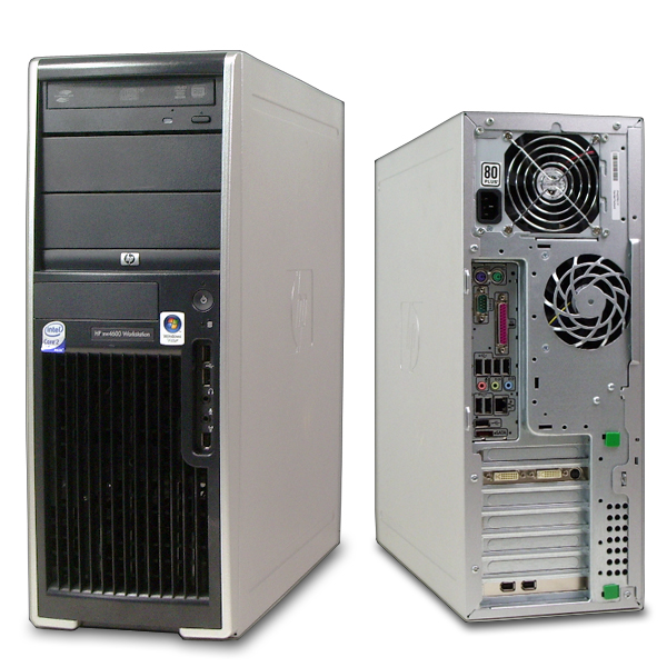 Máy bộ Hp XW4600 Cấu hình 1 (Core 2 Duo E8400 3.0Ghz/ 6MB/ Bus 1333 - DDR 2GB - HDD 160 GB - Quadro FX 380 upto 1GB -128 Bit)