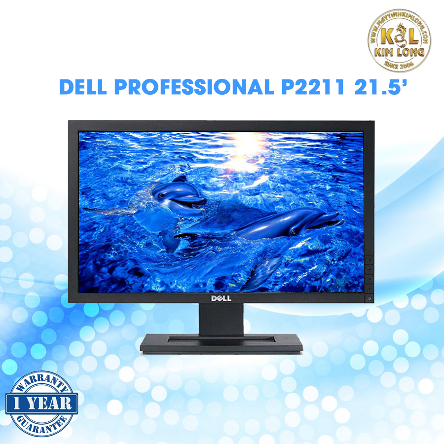 Dell Professional P2211H - LED monitor - 21.5 inch