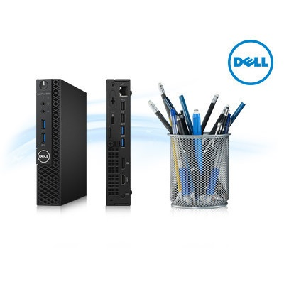 Máy bộ Dell OptiPlex 3070 Micro  i3 9100T/DDR4 4GB/HDD 500 GB