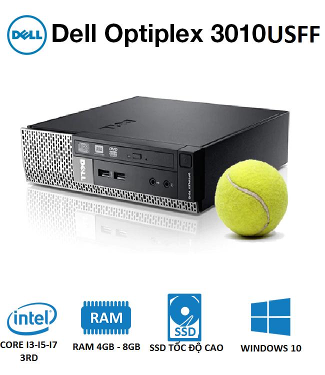 Máy bộ Dell OptiPlex 7010/9010 USFF i3 3220/4GB/SSD 120GB (6cm x