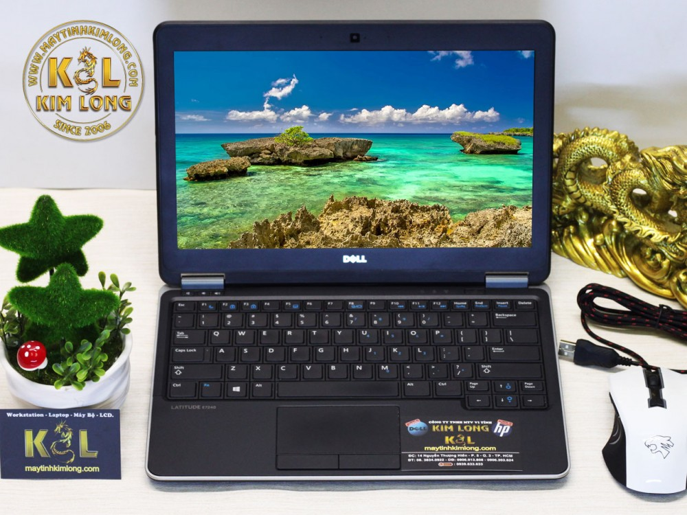 Laptop Dell Latitude E7250 i5 5300U/4GB/SSD 256GB