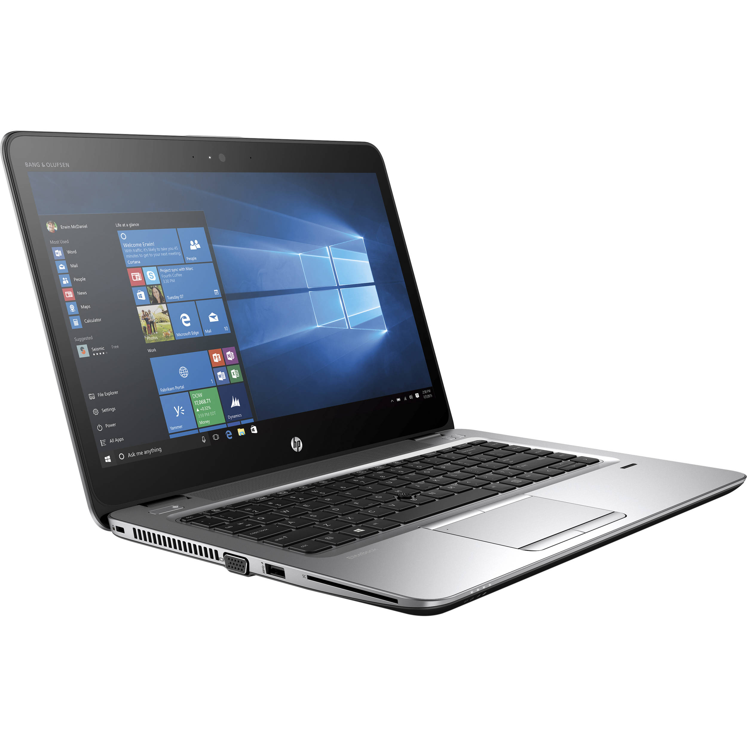 Laptop HP Elitebook 840 G3 Core i5 6300U/8GB/SSD 180GB