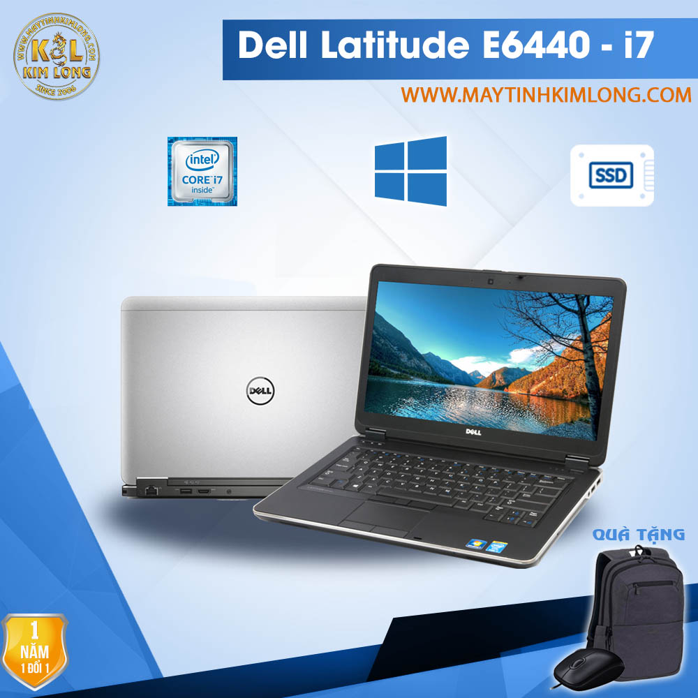 Laptop Dell Latitude E6440 i7 4600M/4GB/120GB