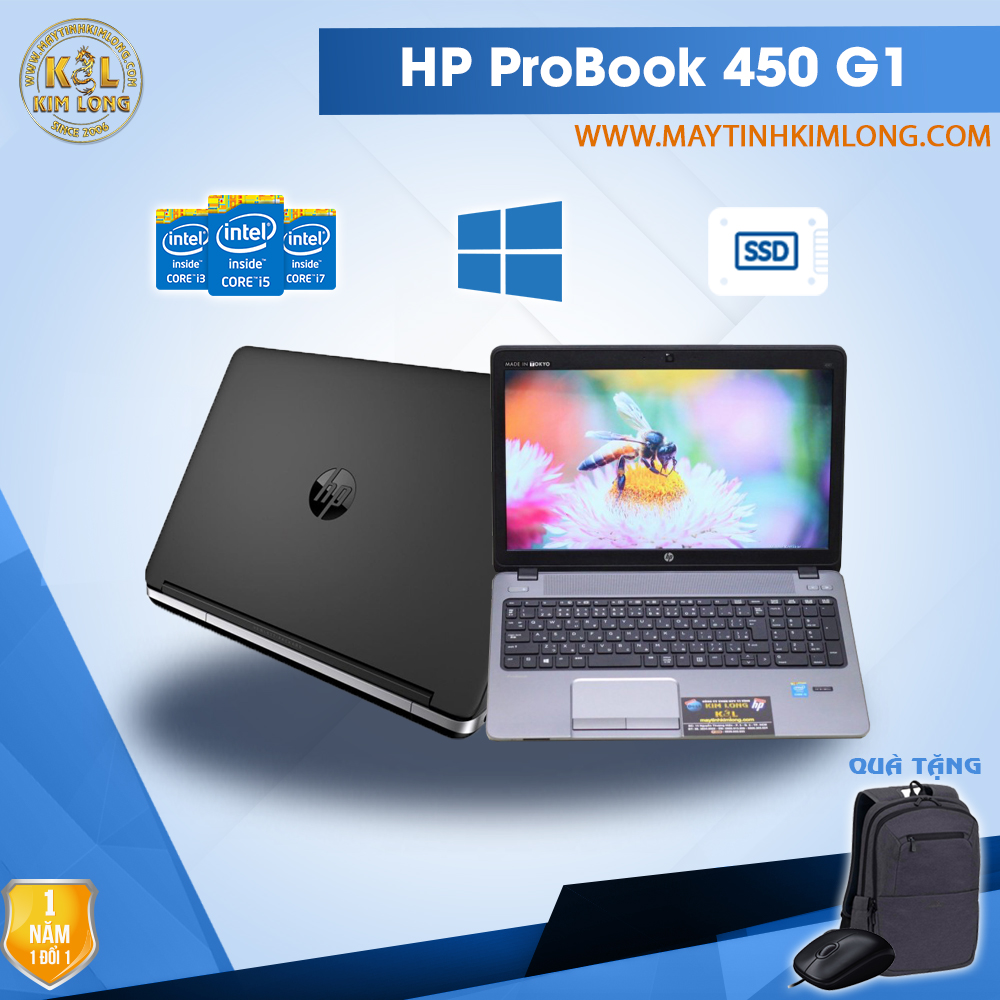 Laptop HP ProBook 450 G1 i5 4200M/4GB/SSD120GB