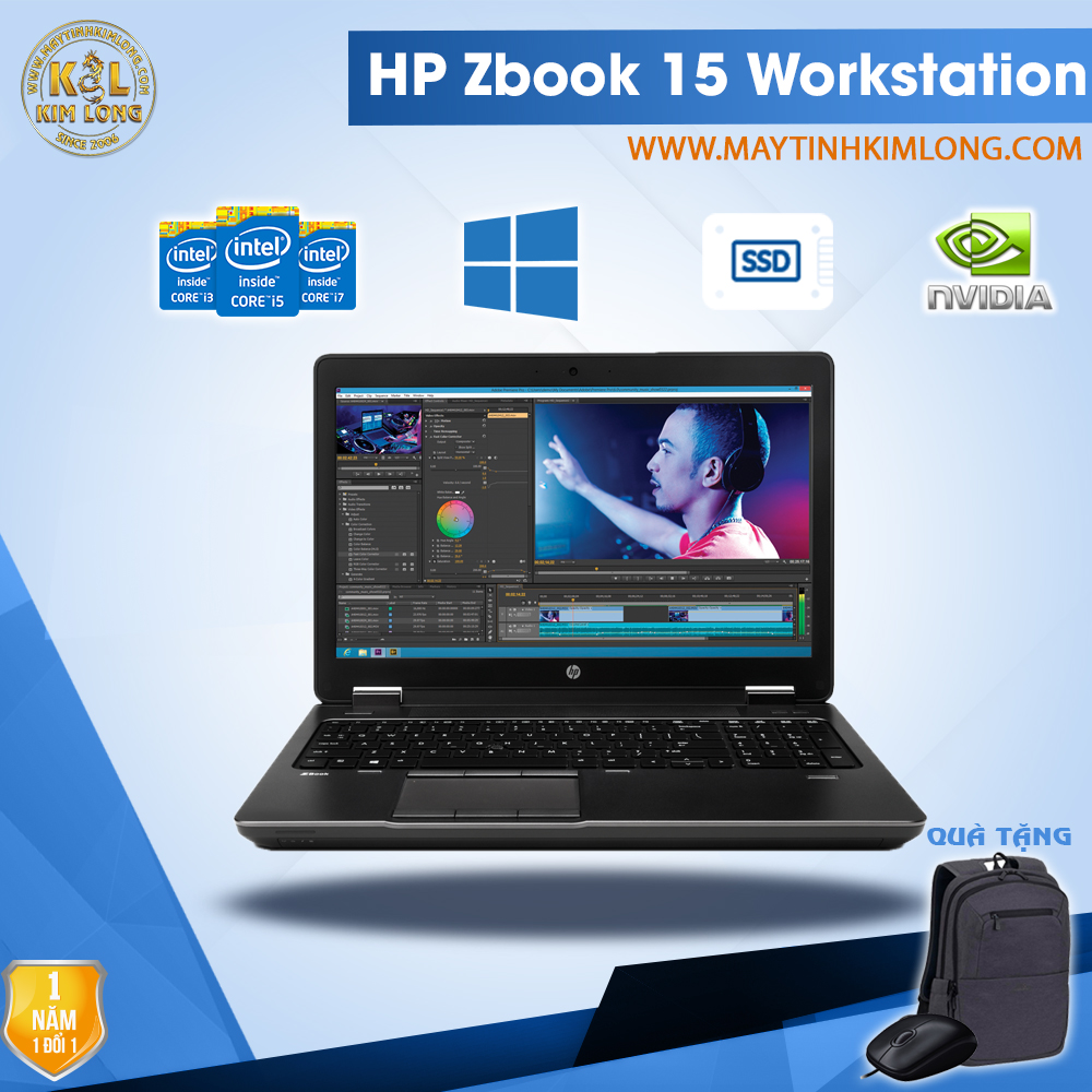 Laptop HP ZBook 15 i7 4700QM/8GB/SSD 240GB/Quadro K1100M
