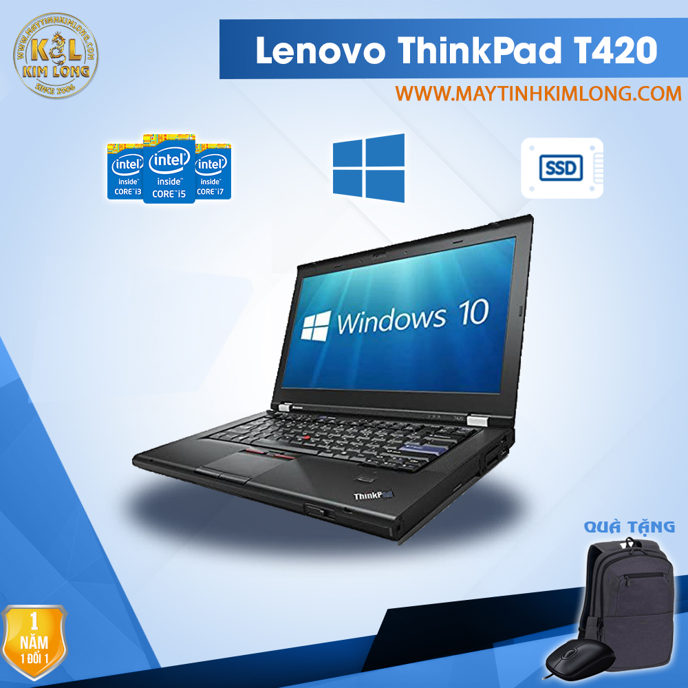 Laptop Lenovo ThinkPad T420 i5 2520M/4GB/SSD120Gb