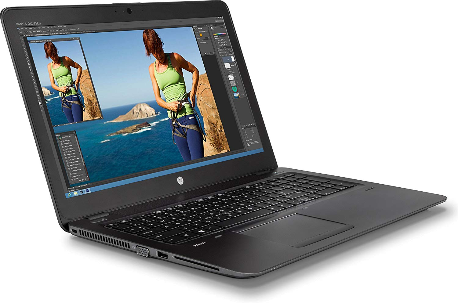 Laptop HP Zbook 15 G3 Core i7-6820HQ/DDR4 16Gb/SSD 256GB/Quadro M1000M