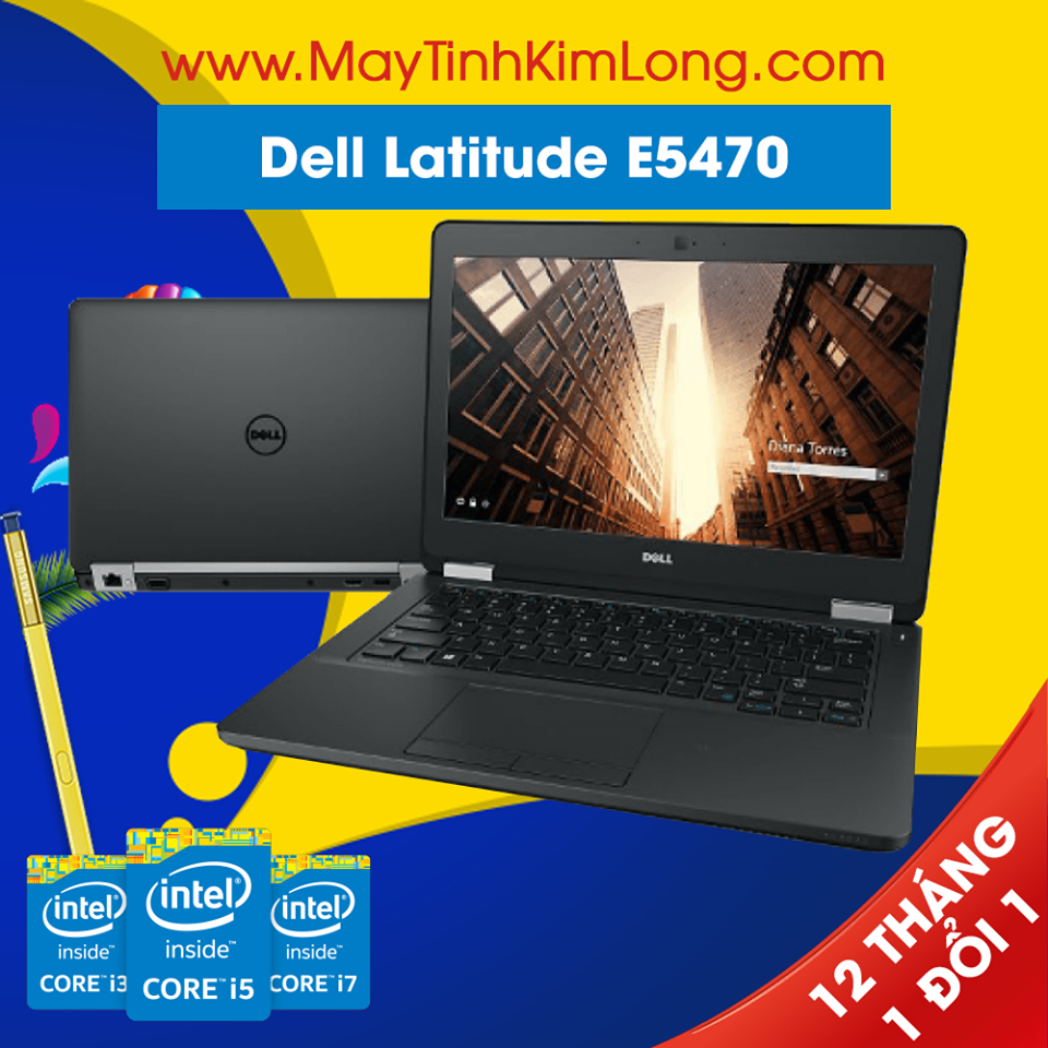 Laptop Dell Latitude E5470 i7 6600U/DDR4 8GB/SSD120GB
