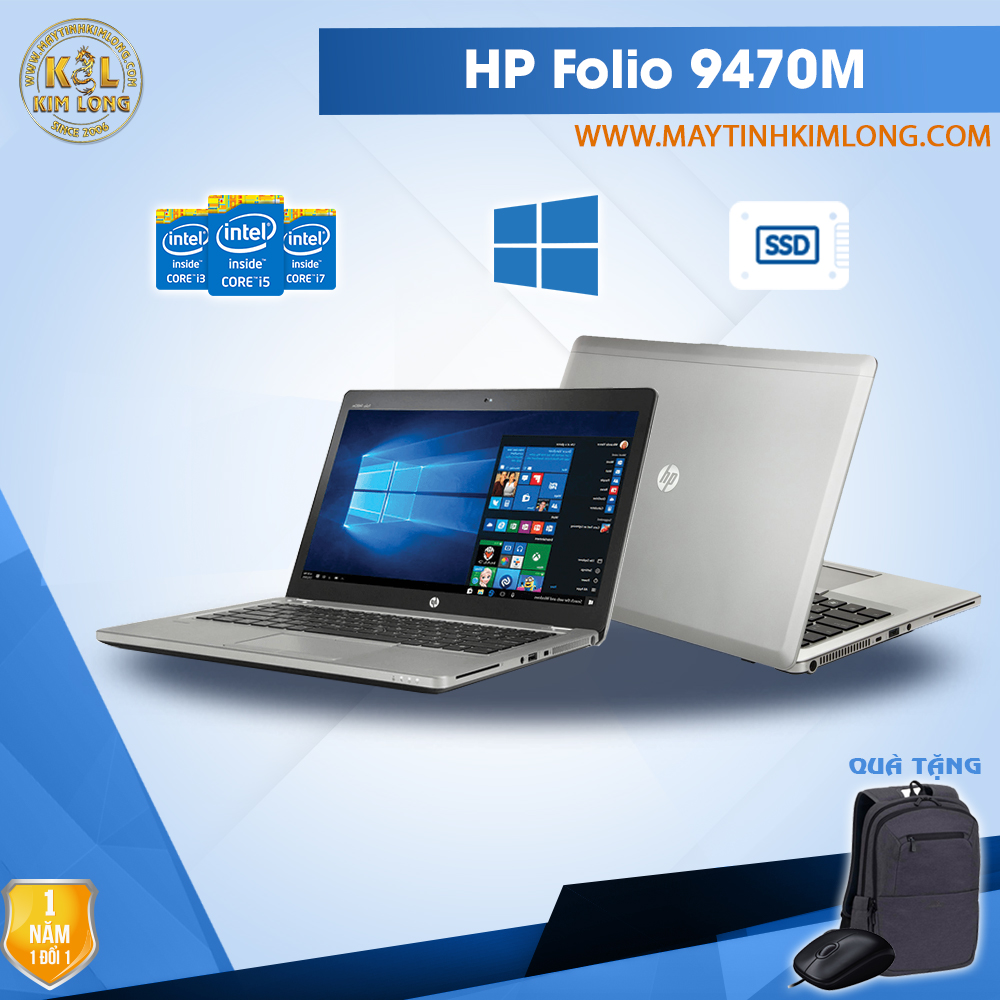 Laptop HP Elitebook Folio 9470M i5 3427U/4GB/SSD 120GB
