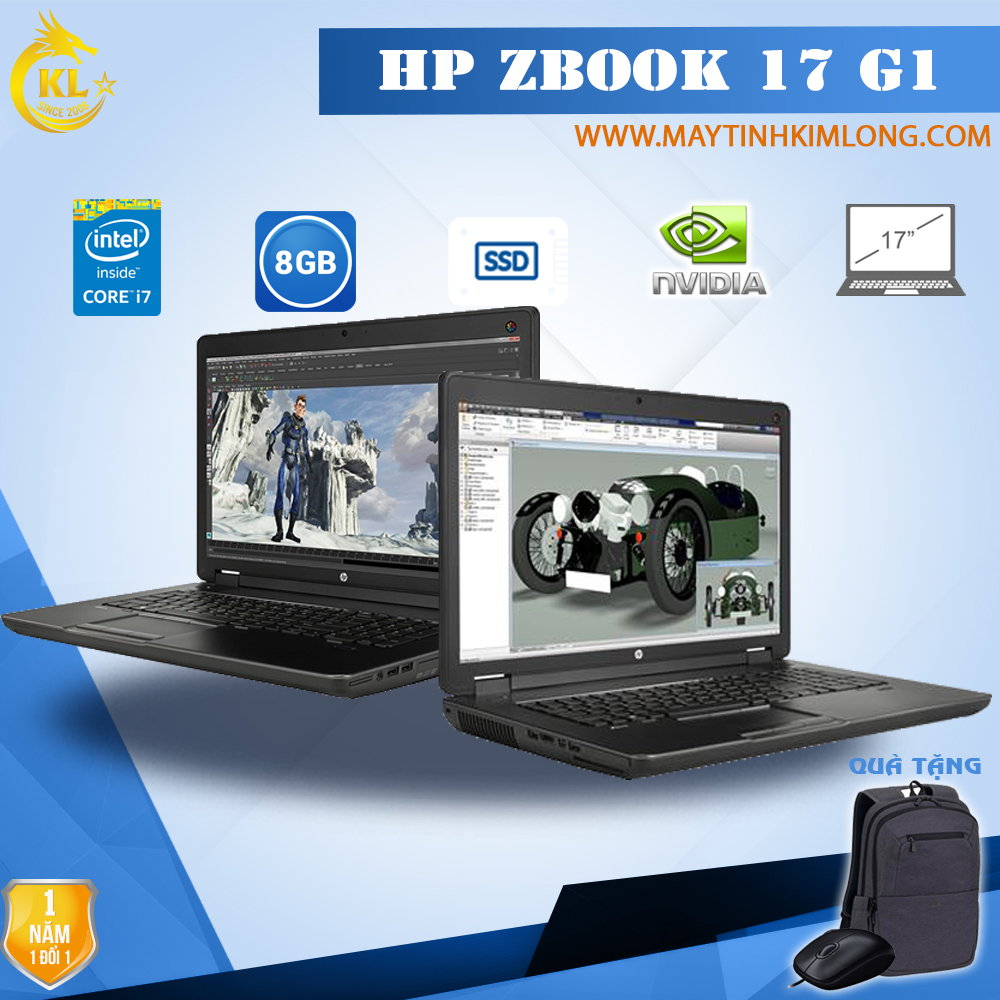 Laptop HP Zbook 17 G1 Core i7-4800MQ /DDR3  8Gb/SSD 240 GB/Quadro K3100M