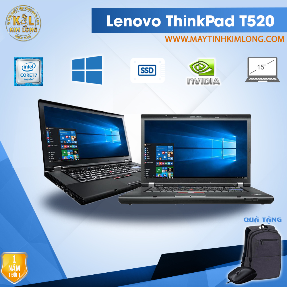 Laptop Lenovo ThinkPad T520 i7 2620M/8GB/SSD120Gb/ Nvidia Nvs 4200M