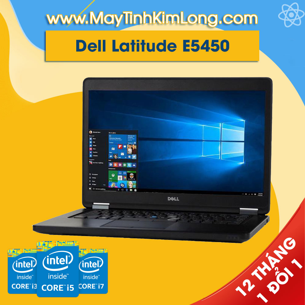 Laptop Dell Latitude E5450 i5 5300U/4GB/SSD120GB