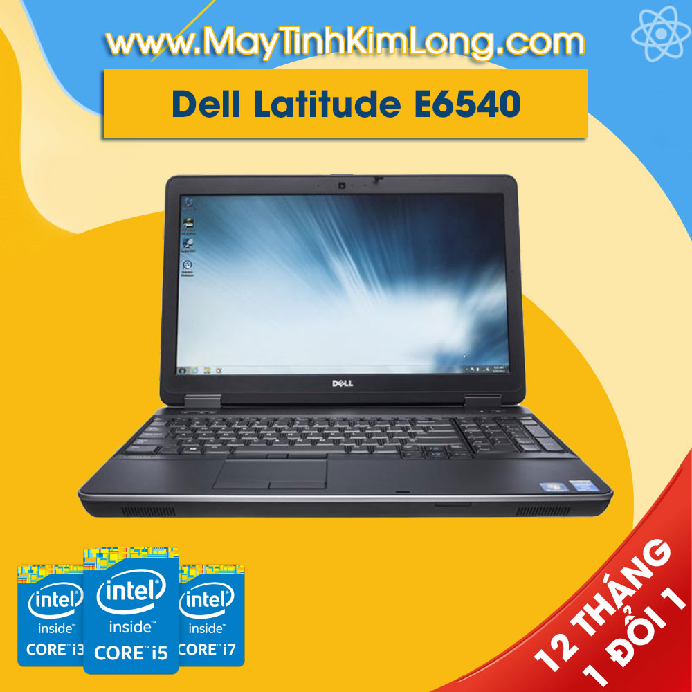Laptop Dell Latitude E6540 i7 4600M/4GB/SSD 160GB