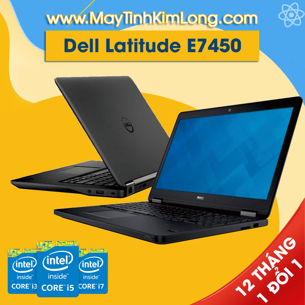 Laptop Dell Latitude E7450 i5 5300u/8GB/SSD120GB