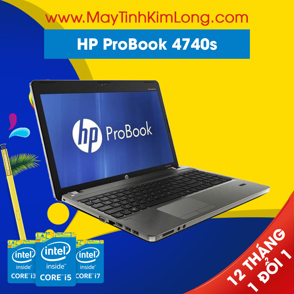 Laptop HP ProBook 4740s i7 3612QM/4GB/320GB/HD 6490M