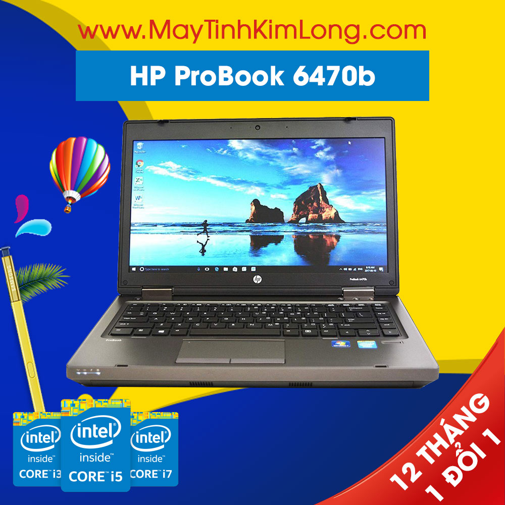 Laptop HP Probook 6470b Core i5-3320M/Ram 4GB/SSD 120GB
