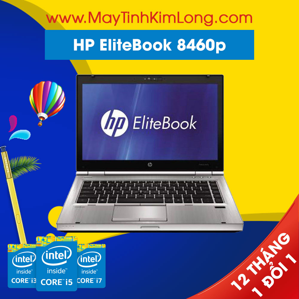 Laptop HP EliteBook 8460p i7 2620M/4GB/250GB