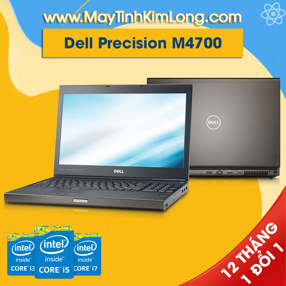 Laptop Dell Precision M4700 i7 3720QM/8GB/SSD 120GB/FirePro M4000