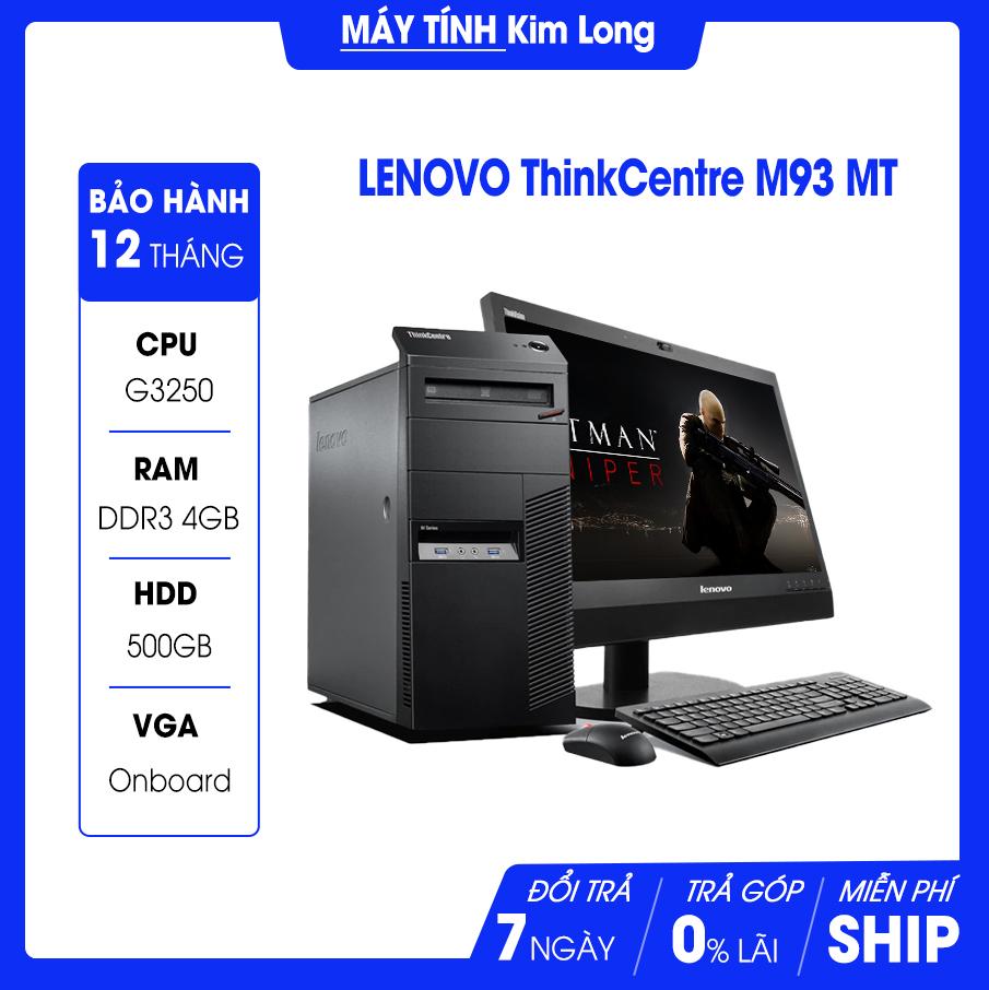 Máy bộ Lenovo M73/83/93-MT ( CPU Intel G3240 : 3.1 GHz, / RAM : 4 GB / HDD : 500 GB / VGA ONBOARD) Giá SP Chưa bao gồm Màn Hình
