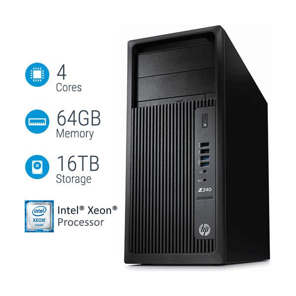Máy Trạm Hp Workstation Z240 MT