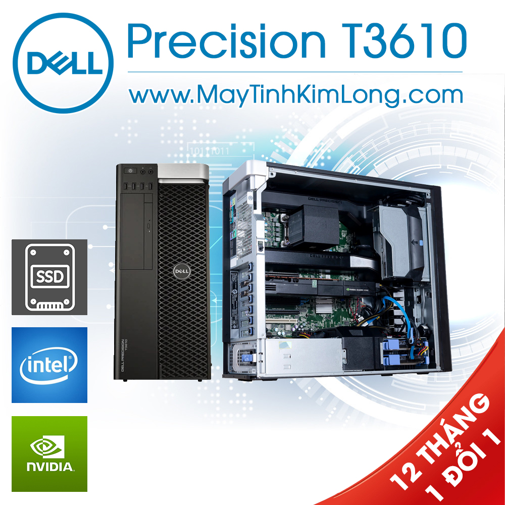 Máy trạm Dell Precision T3610