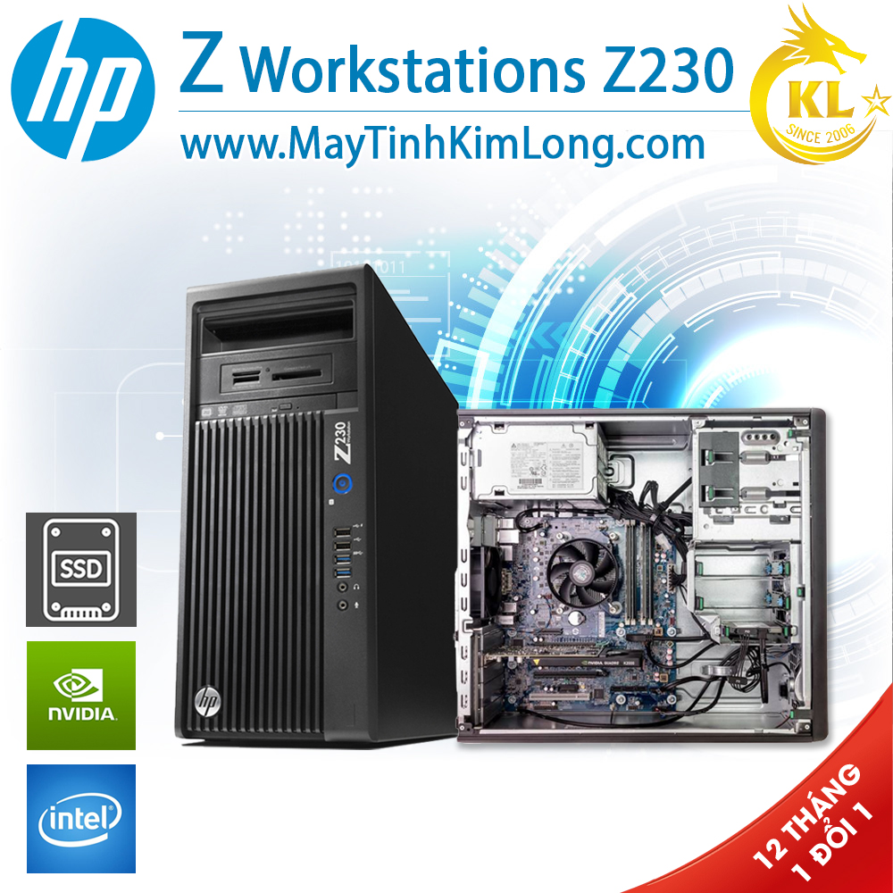Máy Trạm Hp Workstation Z230 MT